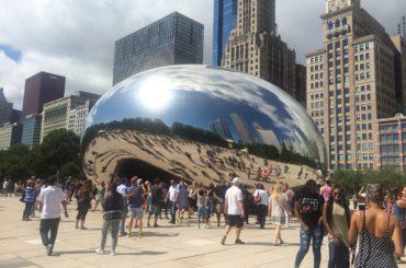Cloud Gate im Millenium Park in Chicago