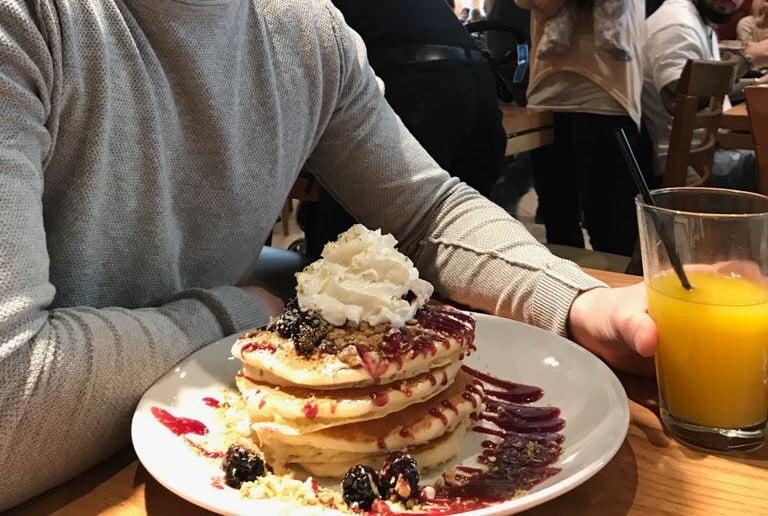 Pancake Frühstück in Chicago