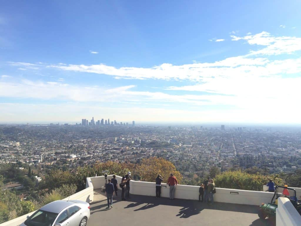 Los Angeles - Aussicht vom Griffith Observatory