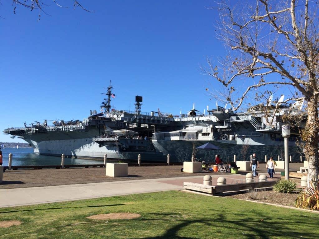 San Diego - alter Flugzeugträger - Museum