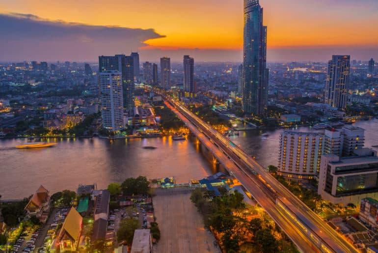 Bangkok, Thailand, Skyline, FernwehElixir
