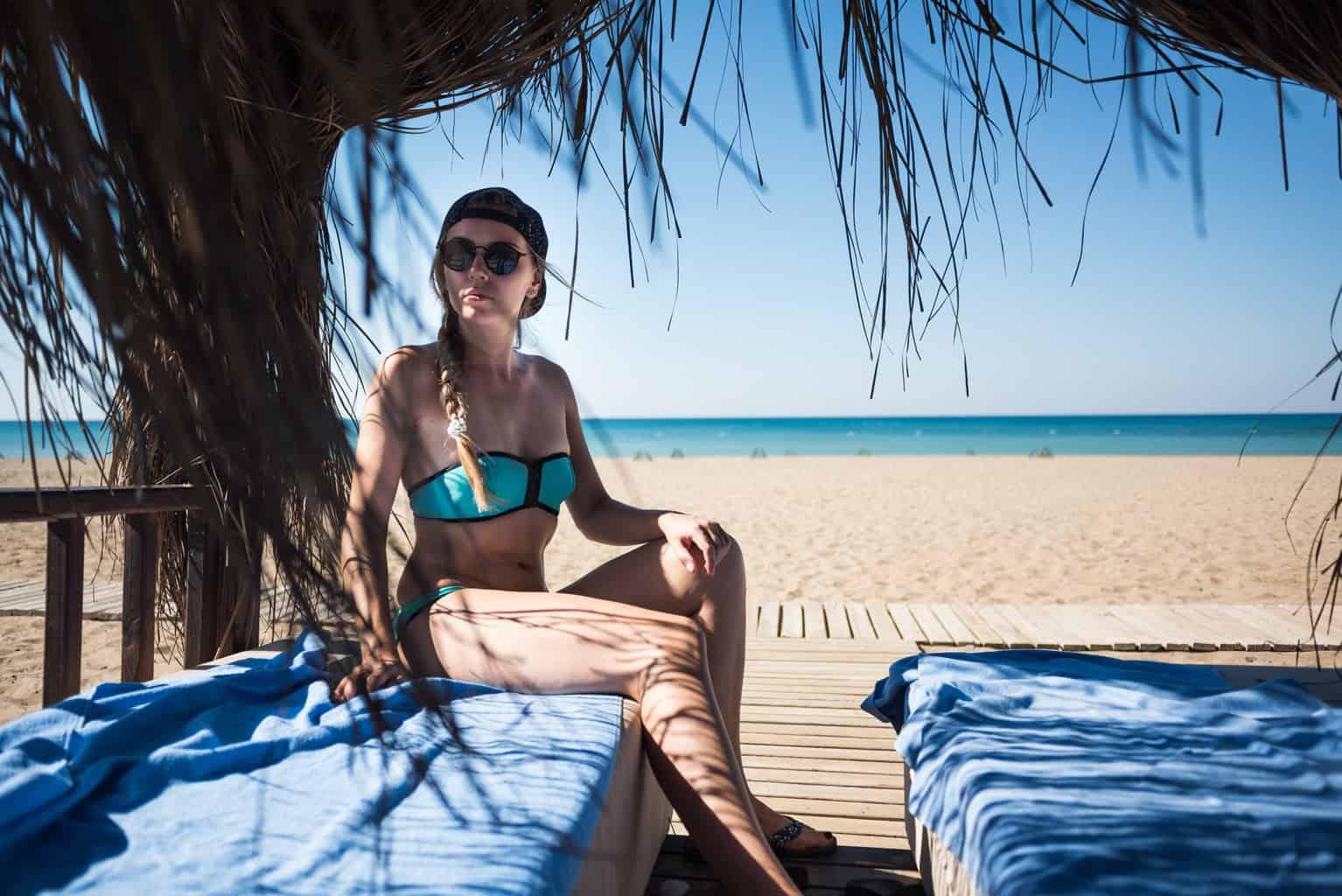 Belek, Türkei, Urlaub, FernwehElixir, Frau am Strand