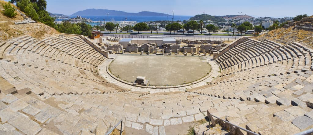 Bodrum, Türkei, Urlaub, FernwehElixir, Amphitheater Halicarnassus. Mugla Provinz