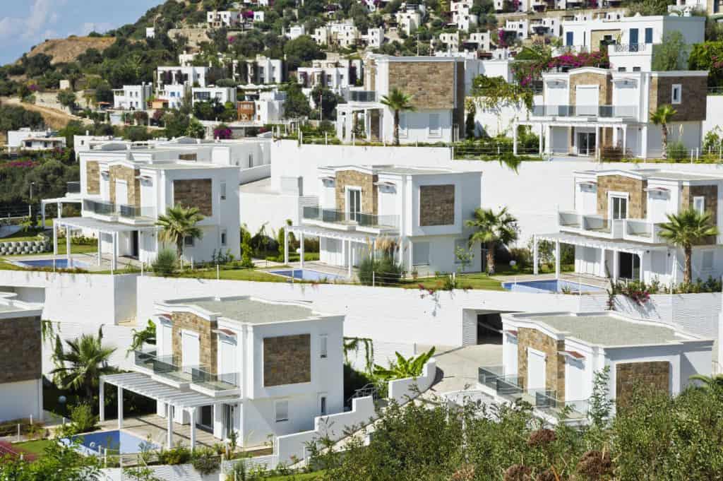 Bodrum, Türkei, Urlaub, FernwehElixir, Flachdach Haus