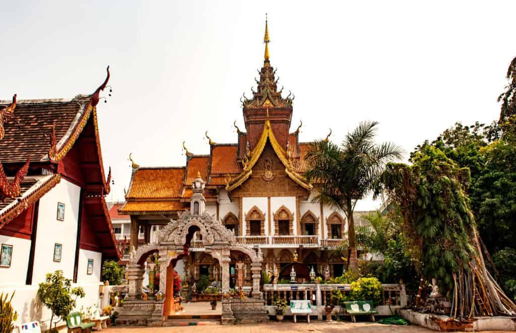Chiang Mai, Thailand, FernwehElixir, Wat Buppharam Tempel