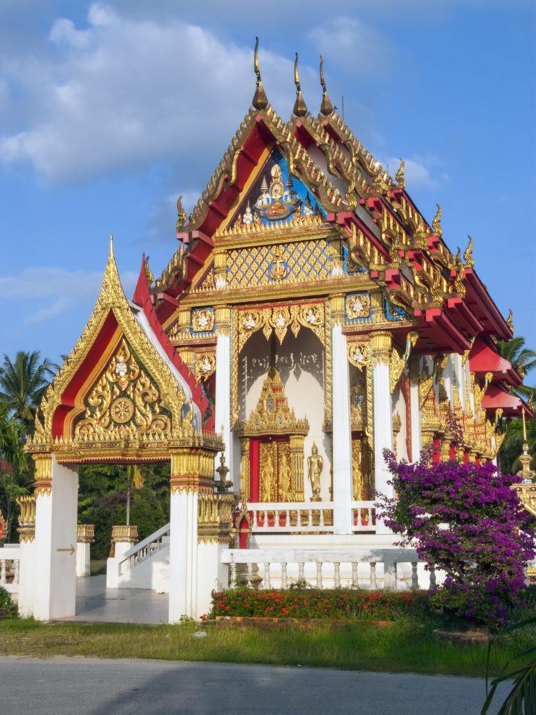 Khao Lak, Thailand, FernwehElixir, Wat Lak Kaen bei Khao Lak