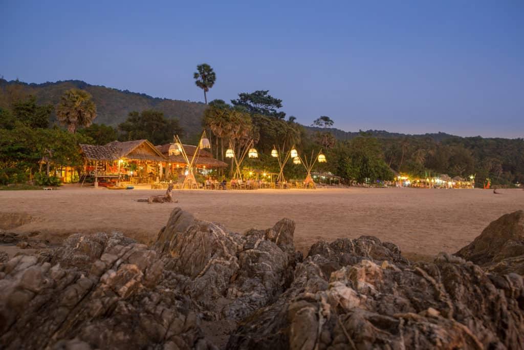 Koh Lanta, Thailand, FernwehElixir, Strand beim Sonnenuntergang