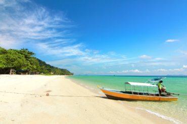 Koh Ngai, Thailand, FernwehElixir, Strand mit Boot