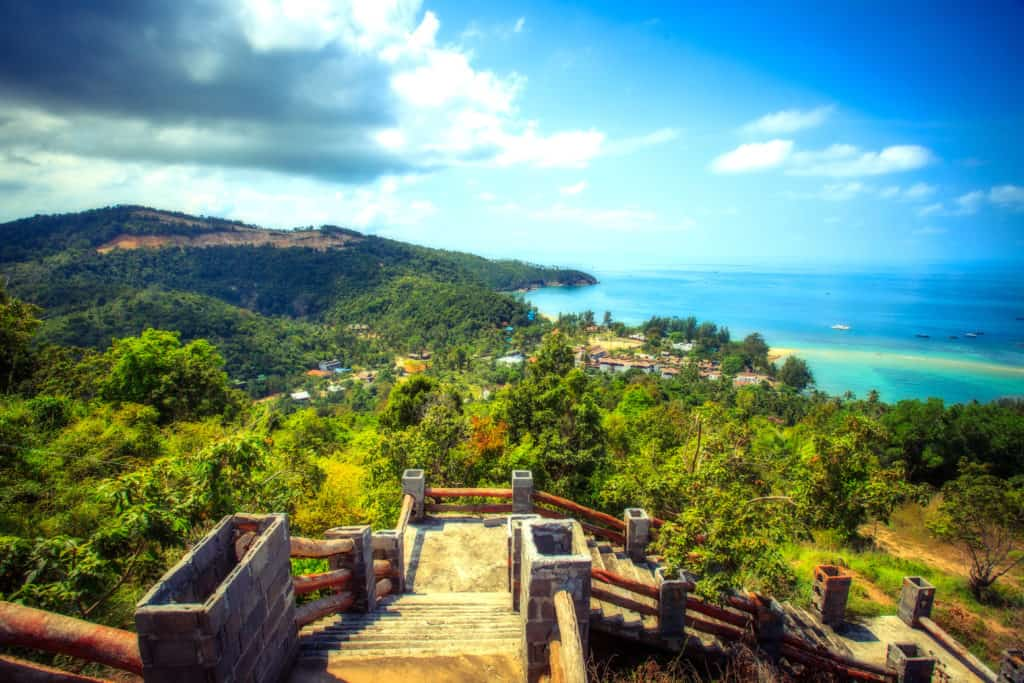 Koh Phangan, Thailand, FernwehElixir, Aussichtspunkt