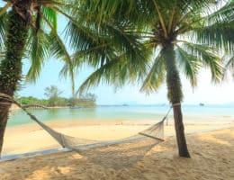 Koh Phayam, Thailand, FernwehElixir, Hängematte am Strand