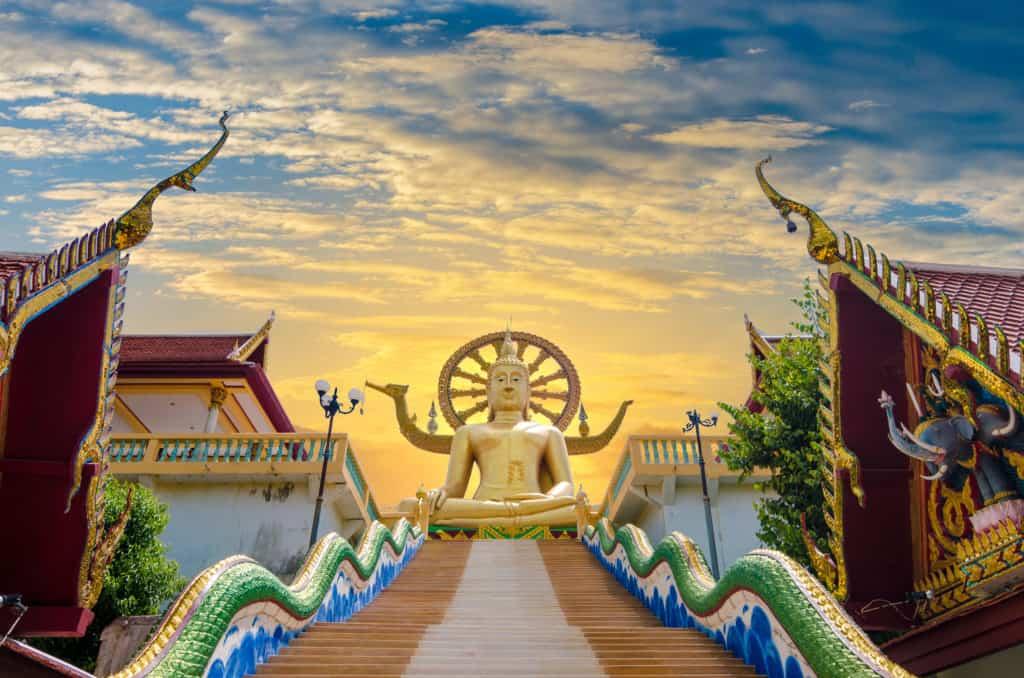 Koh Samui, Thailand, FernwehElixir, Wat Phra Yai Big Buddha
