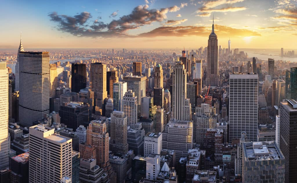 New York, USA, FernwehElixir, Skyline