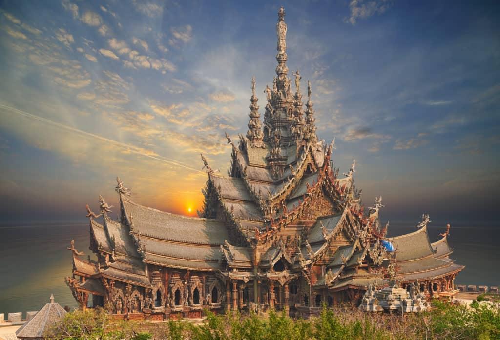 Pattaya, Thailand, FernwehElixir, Sanctuary of Truth
