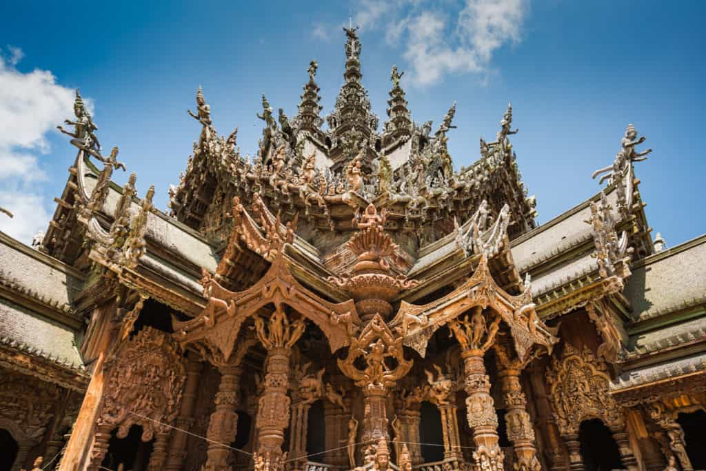 Pattaya, Thailand, FernwehElixir, Sanctuary of Truth 2