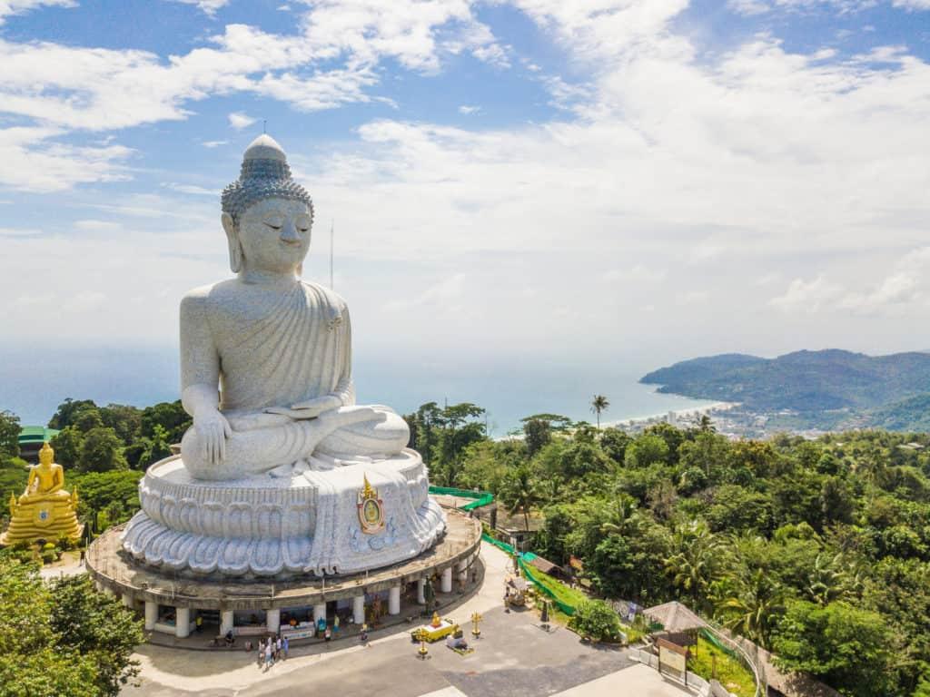 Big Buddha, Phuket, Thailand, Urlaub, Reise, buchen
