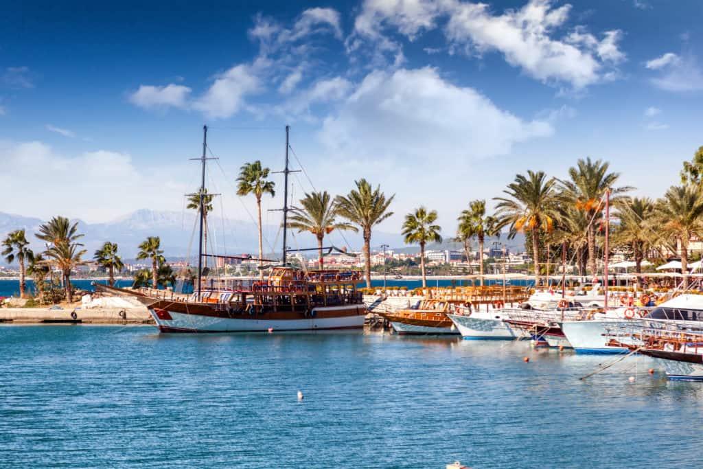Side, Türkei, Urlaub, FernwehElixir, Hafen