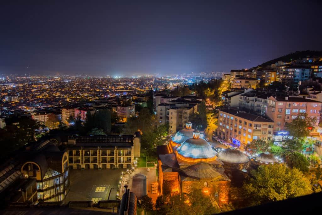 Bursa, Türkei, Urlaub, FernwehElixir, Nachtleben