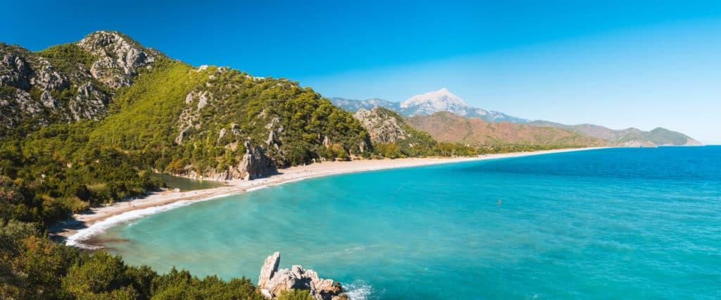 Cirali, Türkei, Olympos Beach