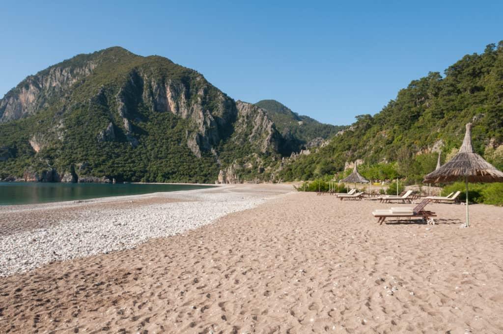 Strand in Cirali