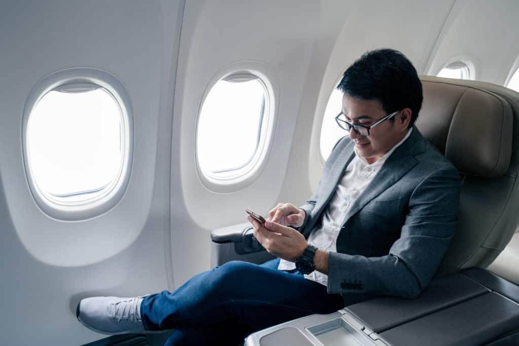 Reisevorbereitung, langer Flug, FernwehElixir, Business Class