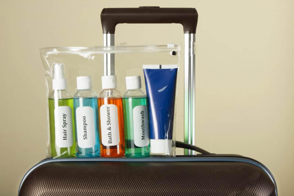 Reisevorbereitung, langer Flug, FernwehElixir, Flüssigkeiten im Handgepäck