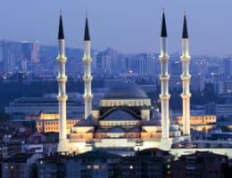 Ankara, kocatepe Moschee bei Nacht, FernwehElixir