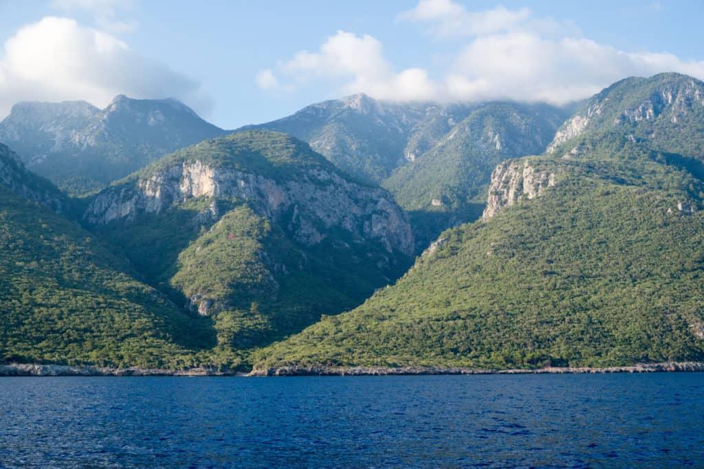 Meer und Berge bei Datca