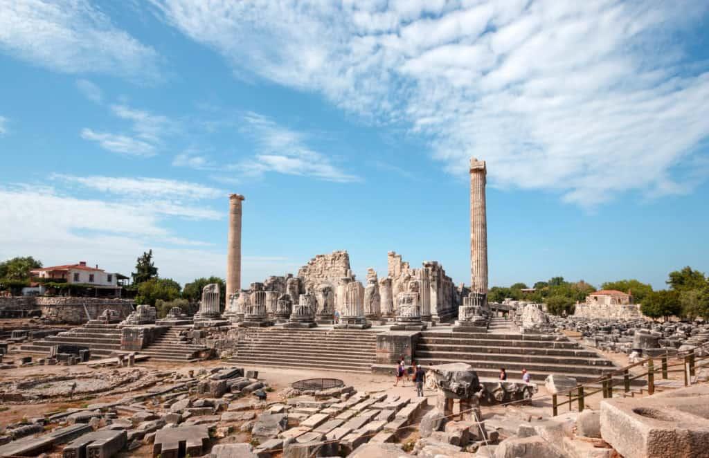 Apollo Tempel Überblick