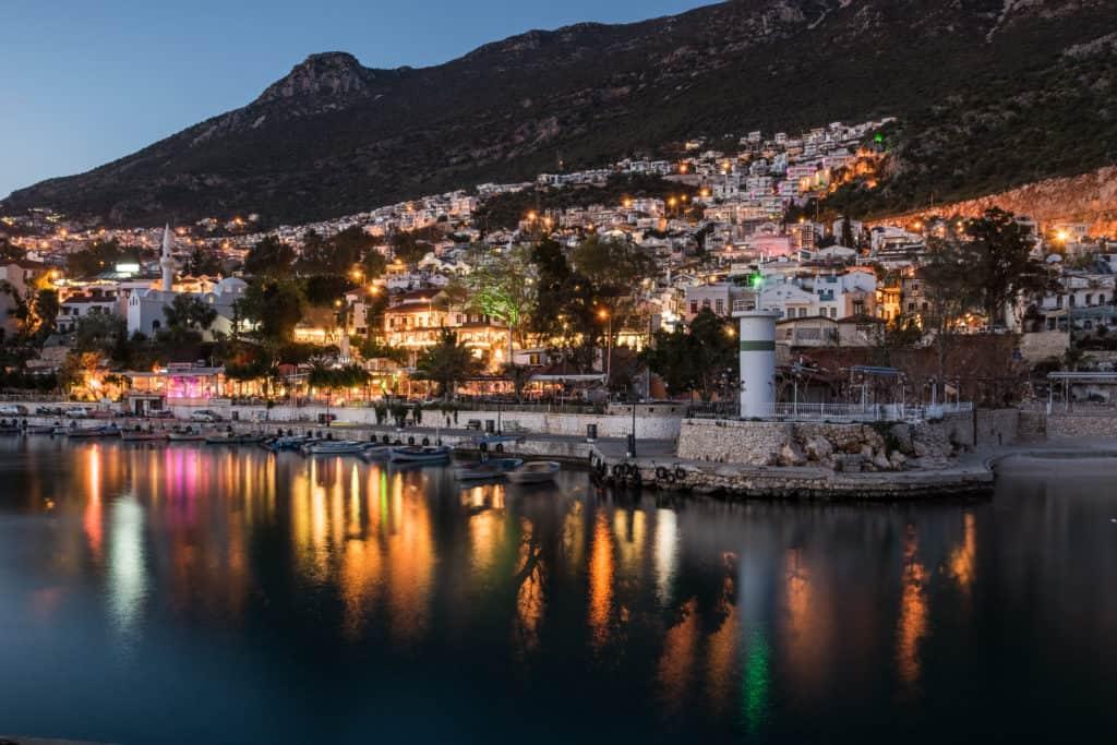 Kalkan, Türkei, Hafen