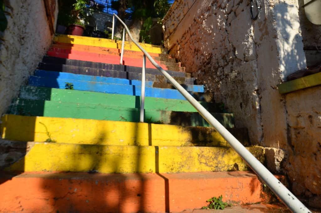 Treppen in Kalkan